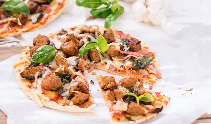 Healthy Meat Lovers Pizza